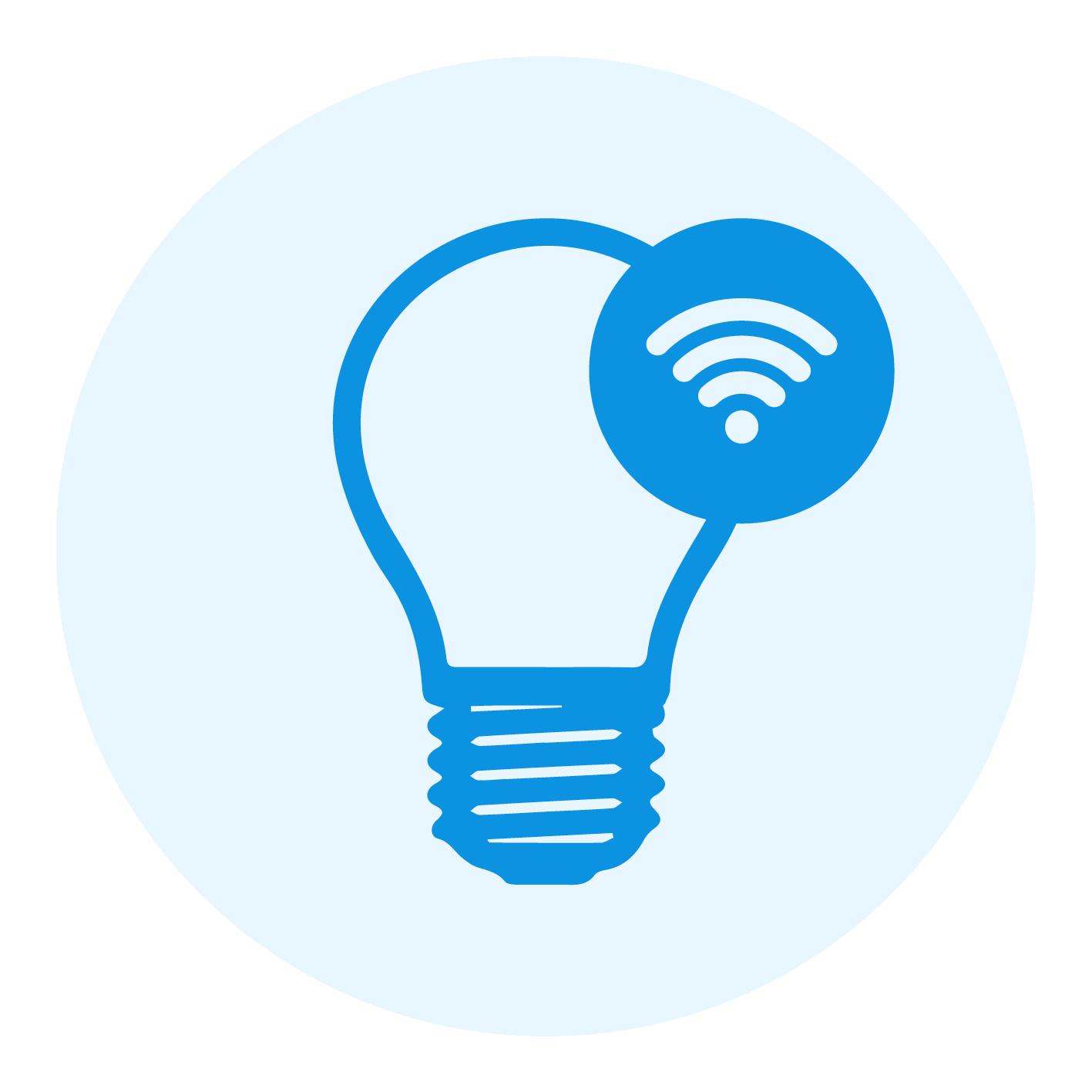 Calex Smart Kerte LED Pære E14 4,5W 400lm 2200-4000K | Tuya Wifi - Justerbar Hvid