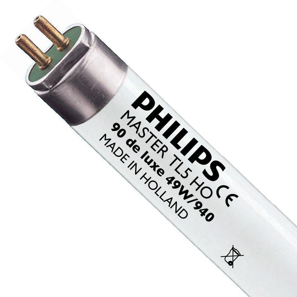Philips TL5 HO 90 De Luxe 49W 940 (MASTER) | 145cm - kold hvid