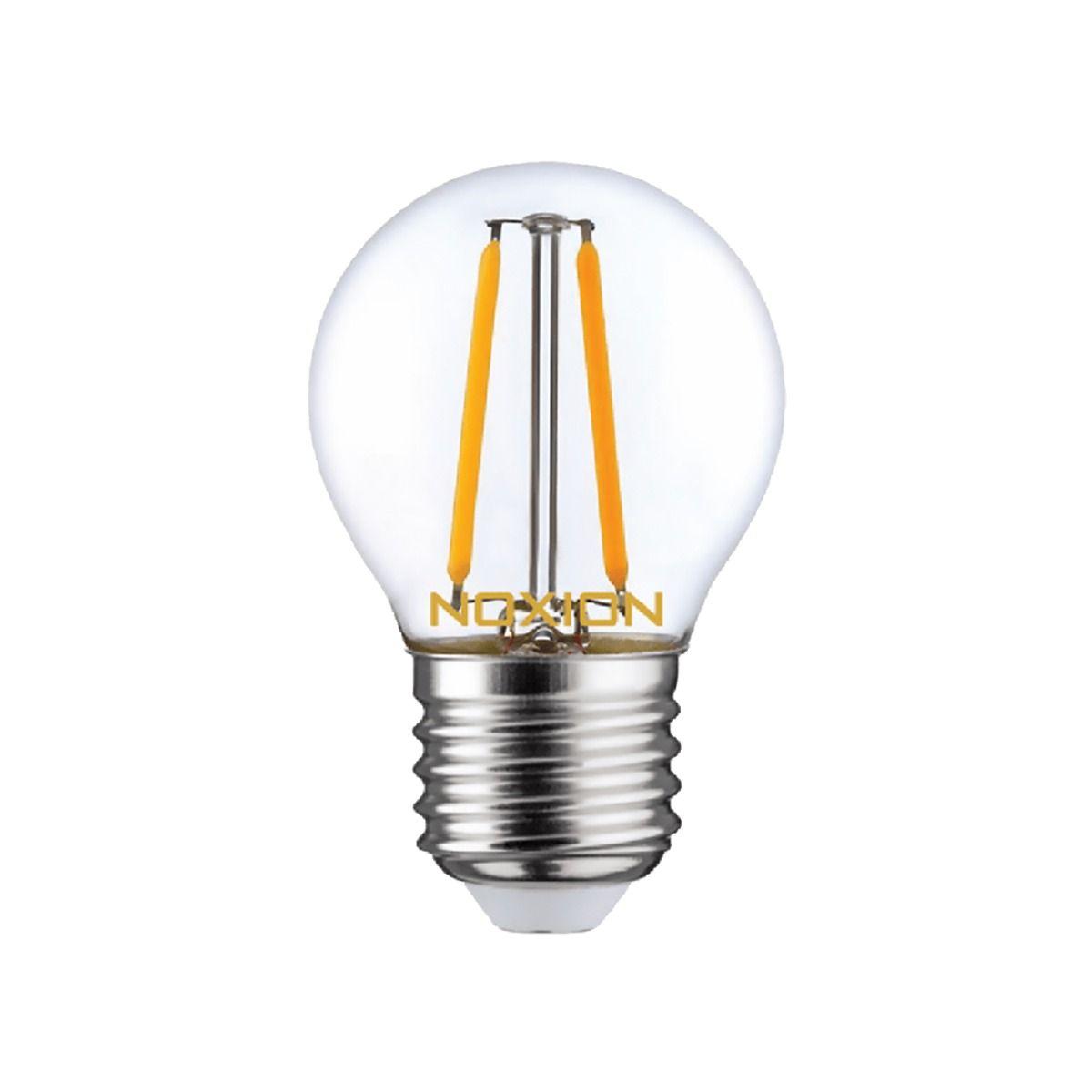 Noxion Lucent LED Lustre E27 2.6W 827 filament   ekstra varm hvid - erstatter 25W