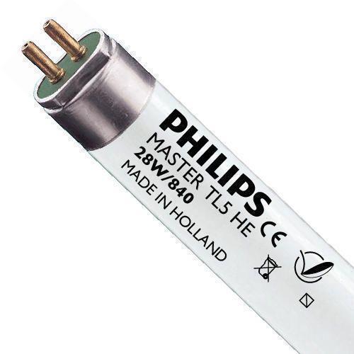 Philips TL5 HE 28W 840 (MASTER)   115cm - kold hvid