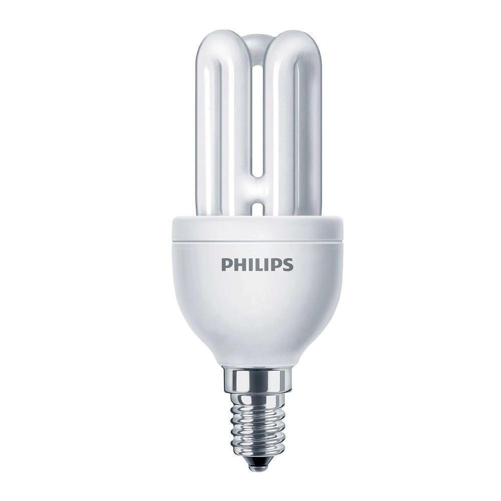 Philips Genie ESaver 8W 827 E14   ekstra varm hvid