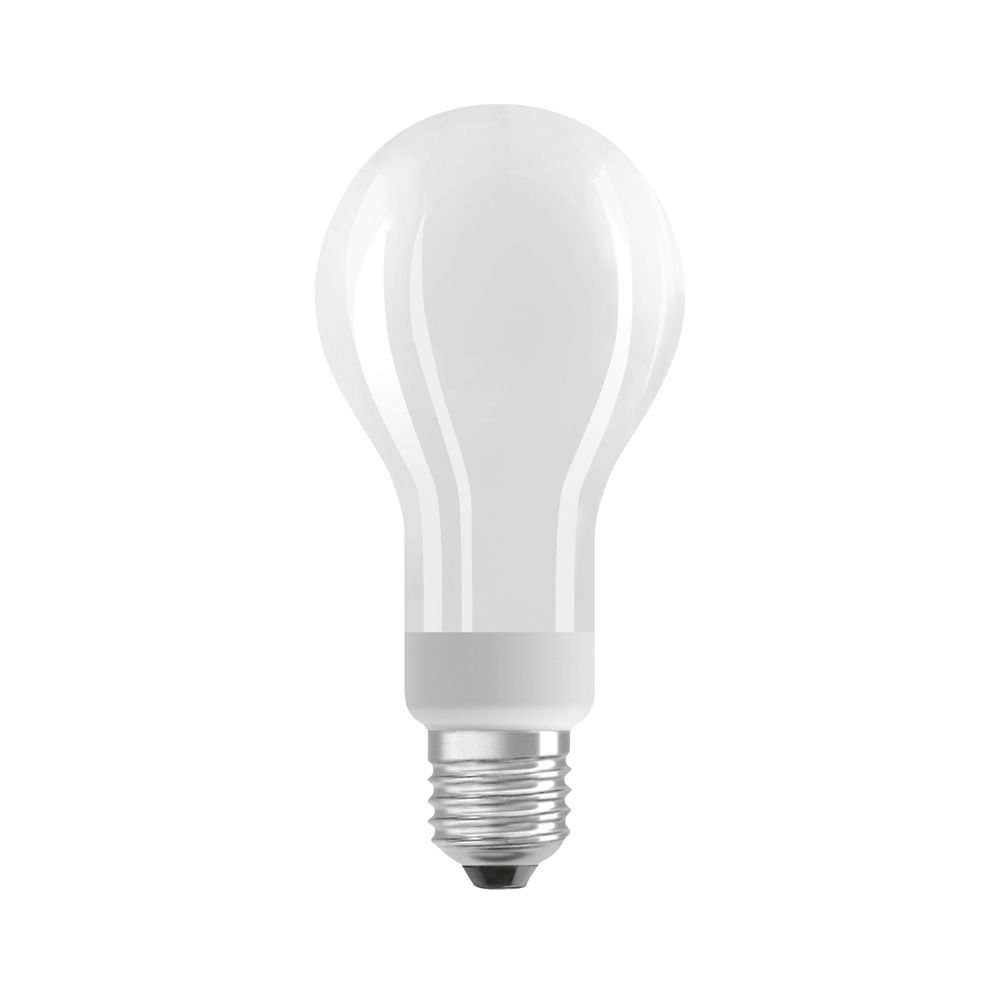 Osram Parathom E27 A67 18W 827 2452lm matt   dæmpbar - ekstra varm hvid - erstatter 150W