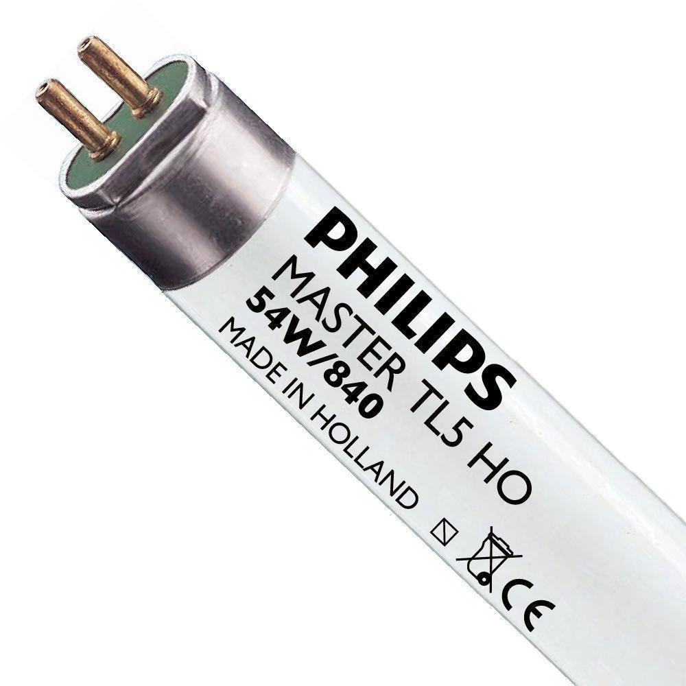 Philips TL5 HO 54W 840 (MASTER) | 115cm - kold hvid