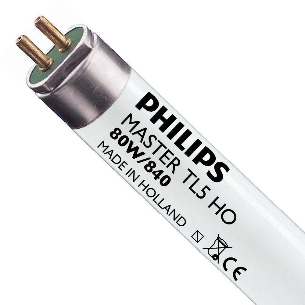 Philips TL5 HO 80W 840 (MASTER) | 145cm - kold hvid
