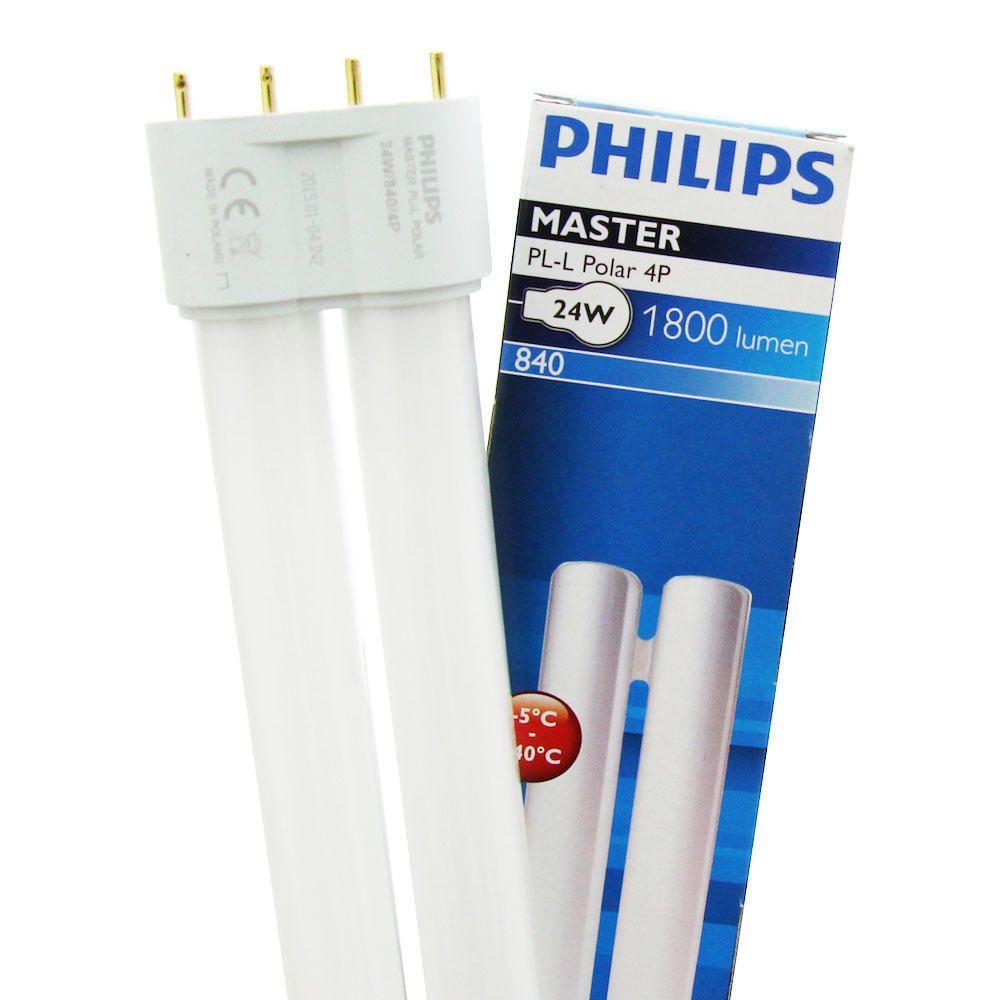 Philips PL-L Polar 24W 840 4P (MASTER) | kold hvid - 4-pinde