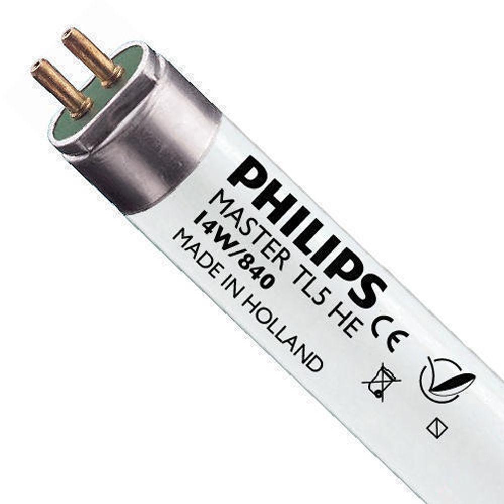Philips TL5 HE 14W 840 (MASTER)   55cm - kold hvid