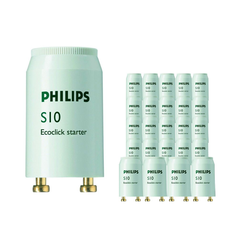 Fordelspakke 25x Philips S10 Starter 4-65W SIN