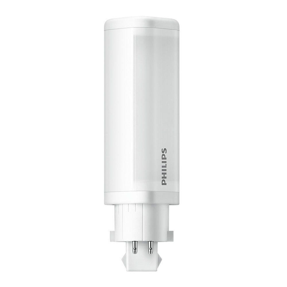 Philips CorePro PL-C LED 4.5W 840 | kold hvid - 4-pinde - erstatter 10W & 13W