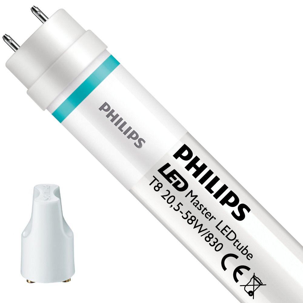 Philips LEDtube EM HO 20.5W 830 150cm (MASTER Value) | varm hvid - LED starter er inkl. - erstatter 58W