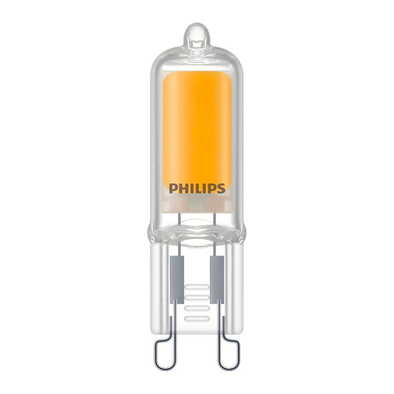 Philips CorePro LEDcapsule G9 2W 827 | ekstra varm hvid - erstatter 25W