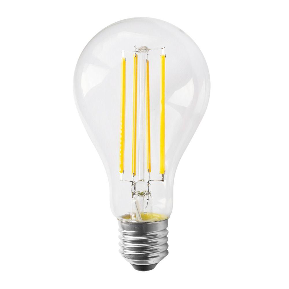 Noxion Lucent Classic LED filament A70 E27 13W 827 klar | dæmpbar - ekstra varm hvid - erstatter 100W
