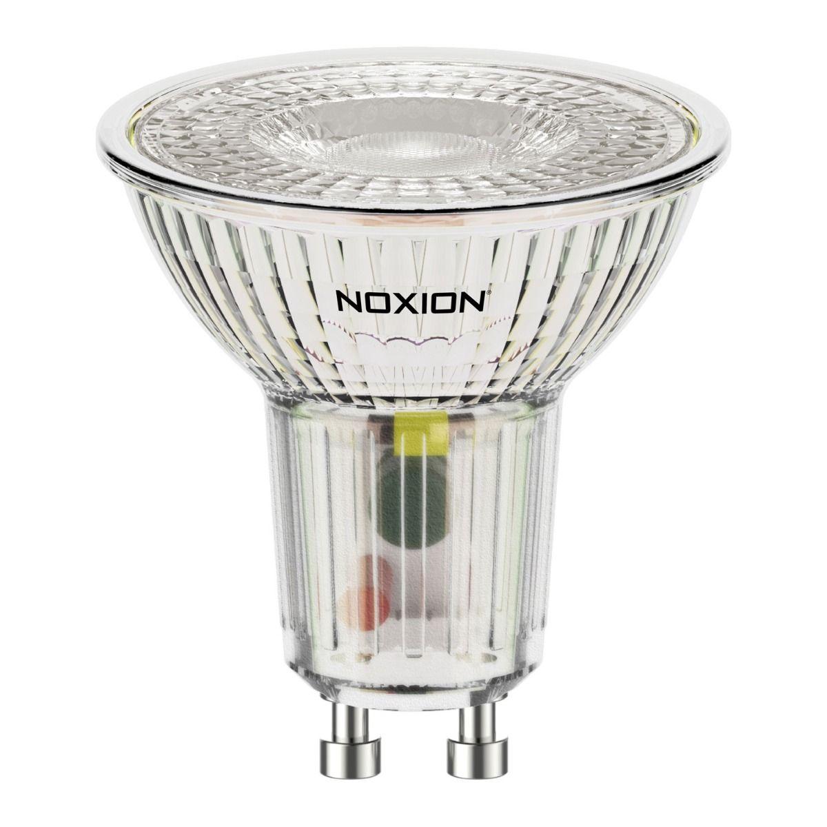 Noxion LED spot GU10 3.7W 830 36D 260lm | varm hvid - erstatter 35W