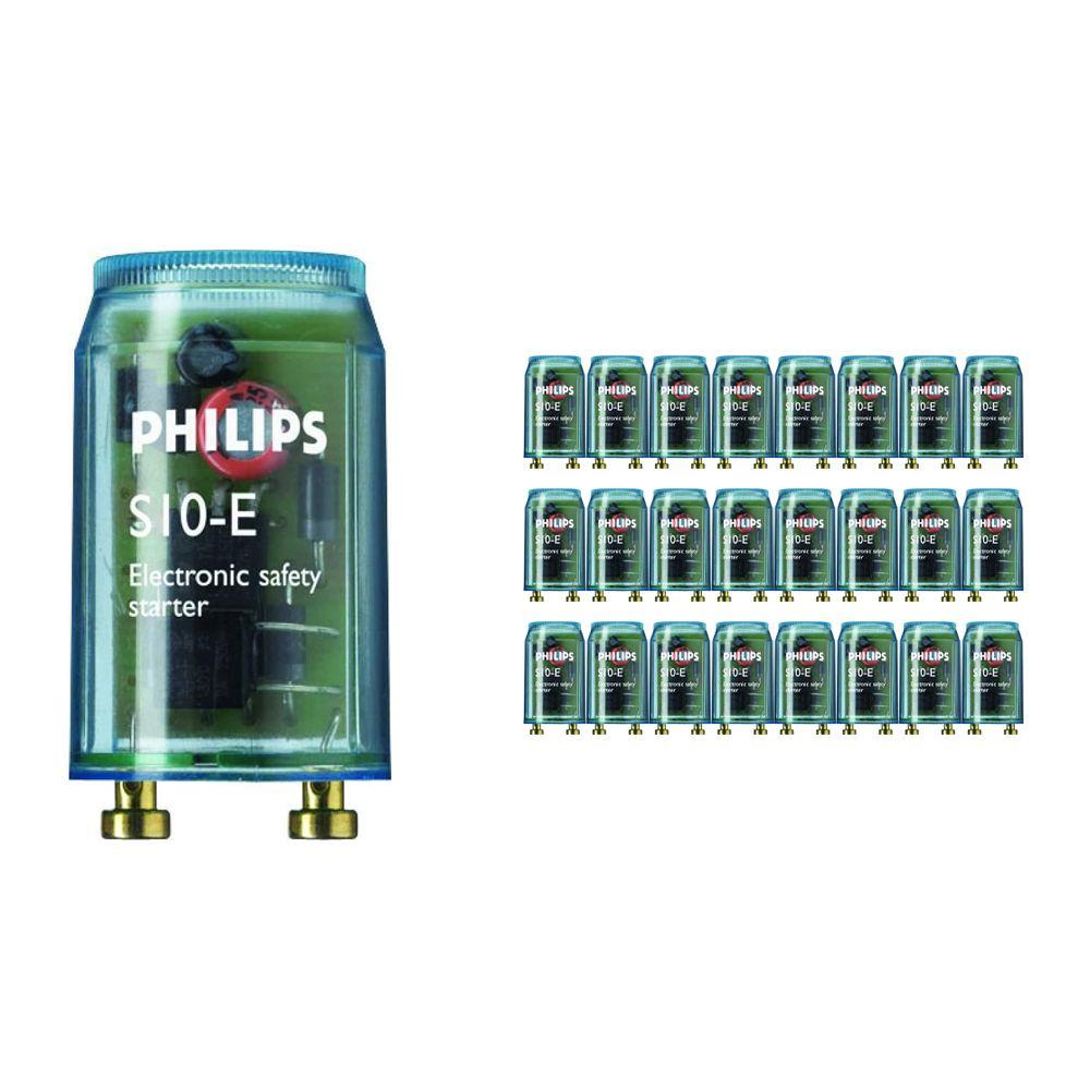 Fordelspakke 25x Philips Startere S10E 18-75W SIN 220-240V BL