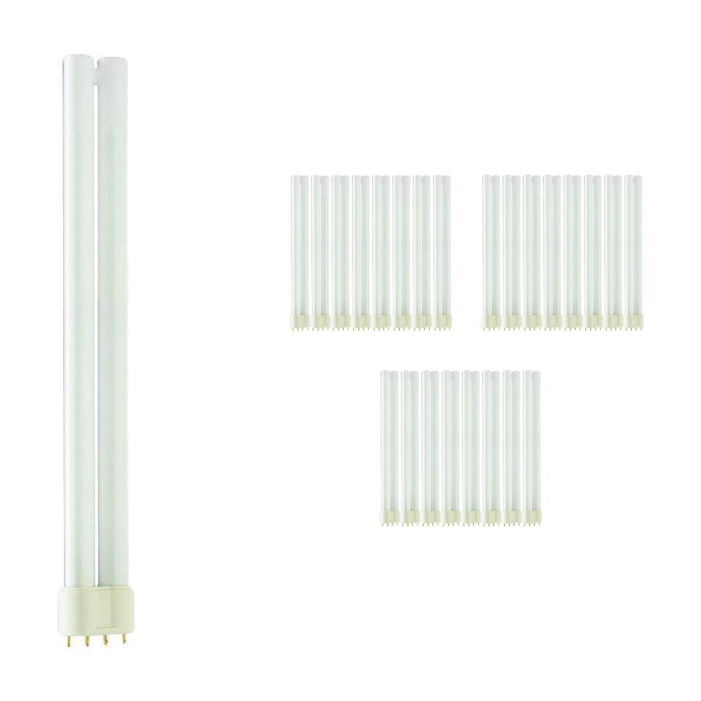 Fordelspakke 25x Philips PL-L 24W 827 4P (MASTER) | ekstra varm hvid - 4-pinde