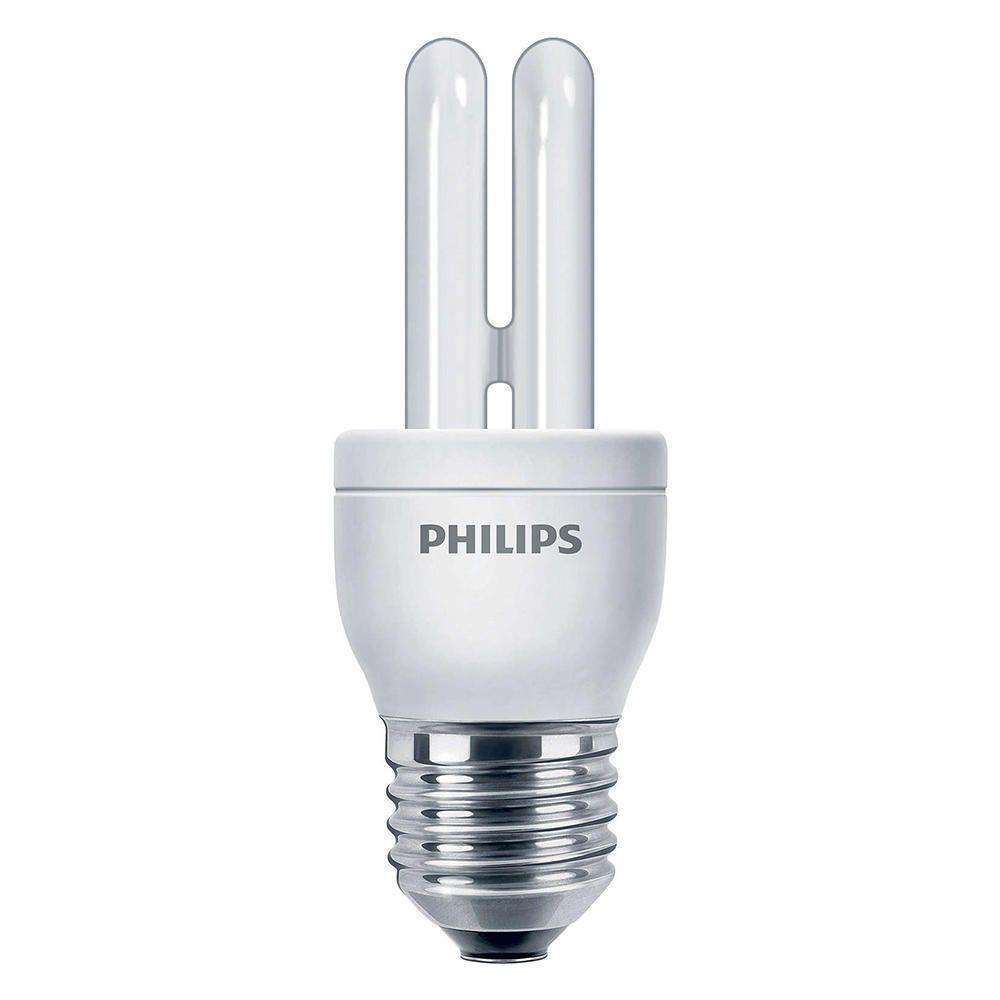 Philips Genie ESaver 5W 827 E27   ekstra varm hvid