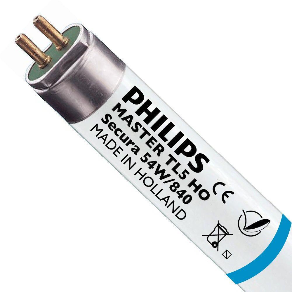 Philips TL5 HO Secura 54W 840 (MASTER)   115cm - kold hvid