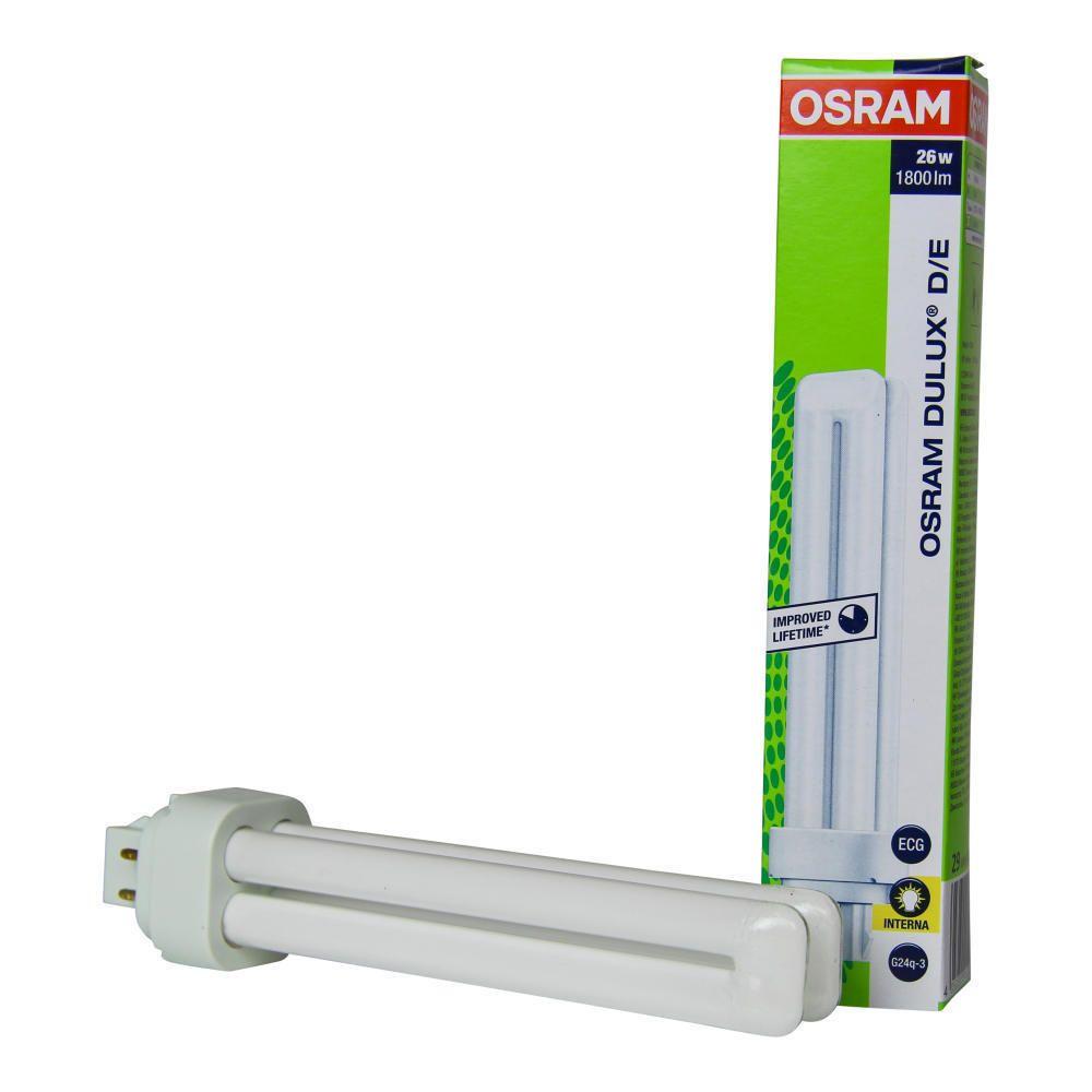 Osram Dulux D/E 26W 827 | ekstra varm hvid - 4-pinde