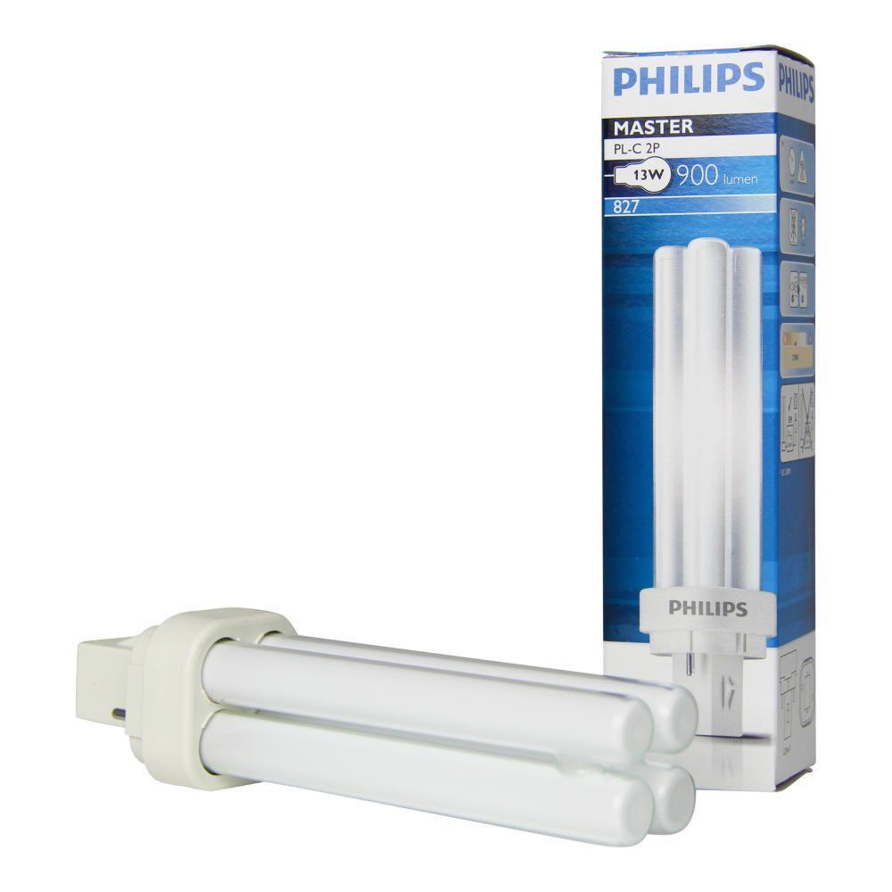 Philips PL-C 13W 827 2P (MASTER) | ekstra varm hvid - 2-pinde