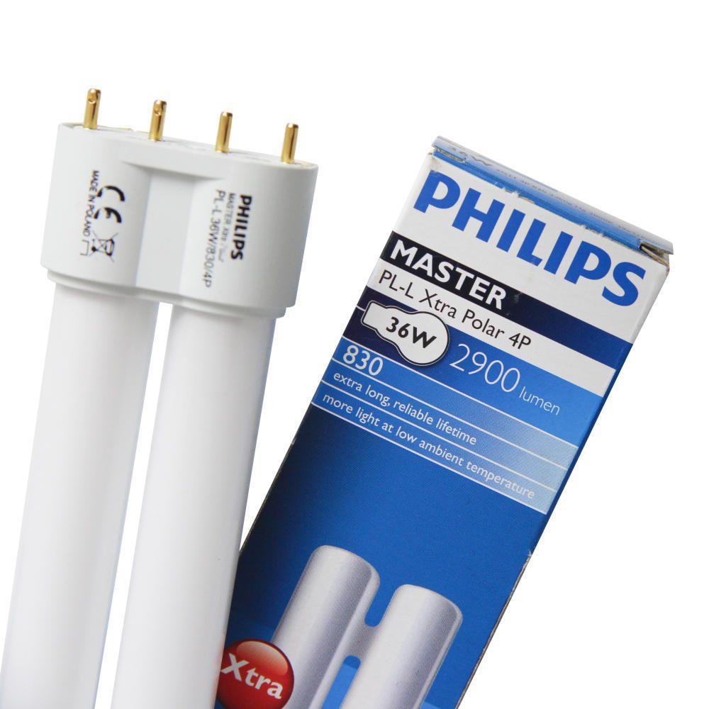 Philips PL-L 24W 840 4P (MASTER) | kold hvid - 4-pinde