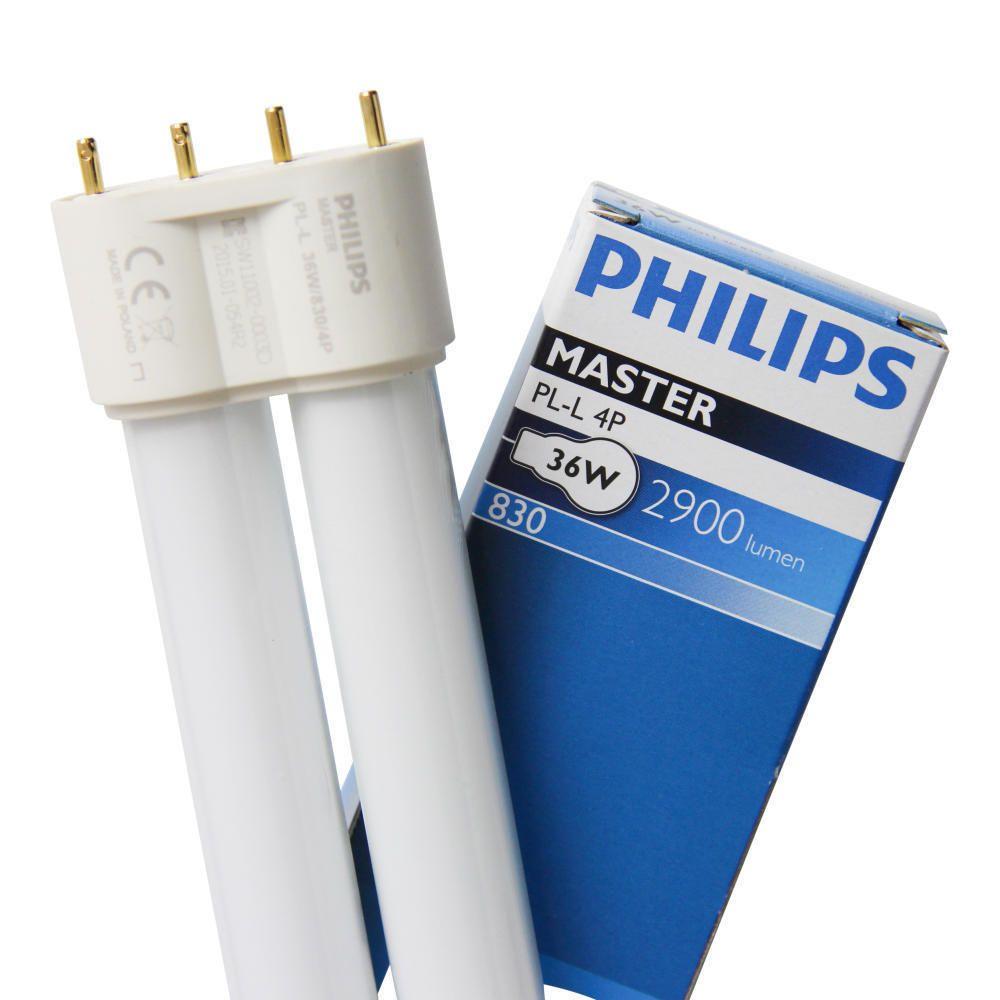 Philips PL-L 36W 830 4P (MASTER)   varm hvid - 4-pinde