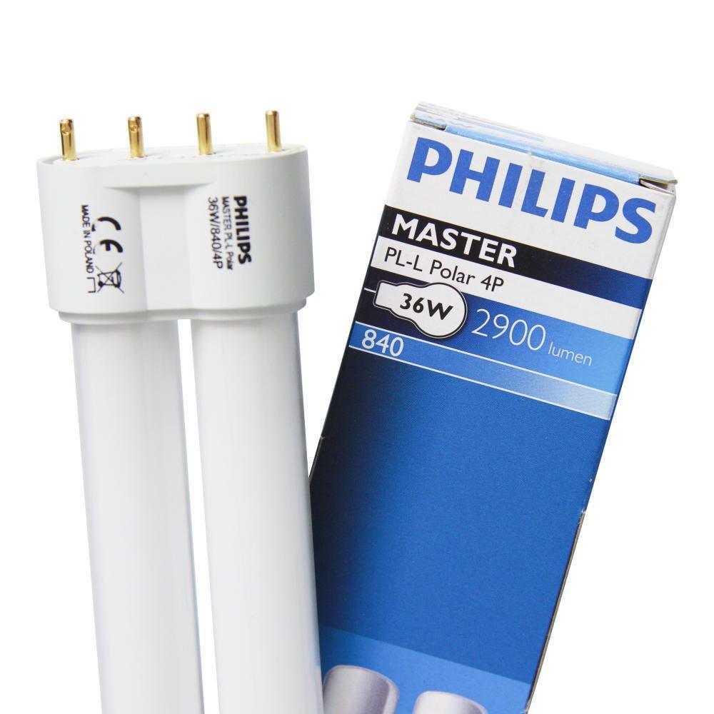 Philips PL-L 40W 840 4P (MASTER) | kold hvid - 4-pinde