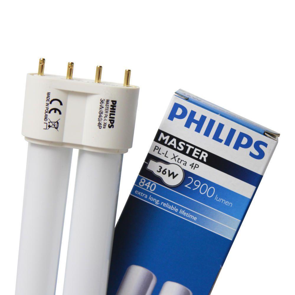 Philips PL-L Xtra 36W 840 4P (MASTER)   kold hvid - 4-pinde