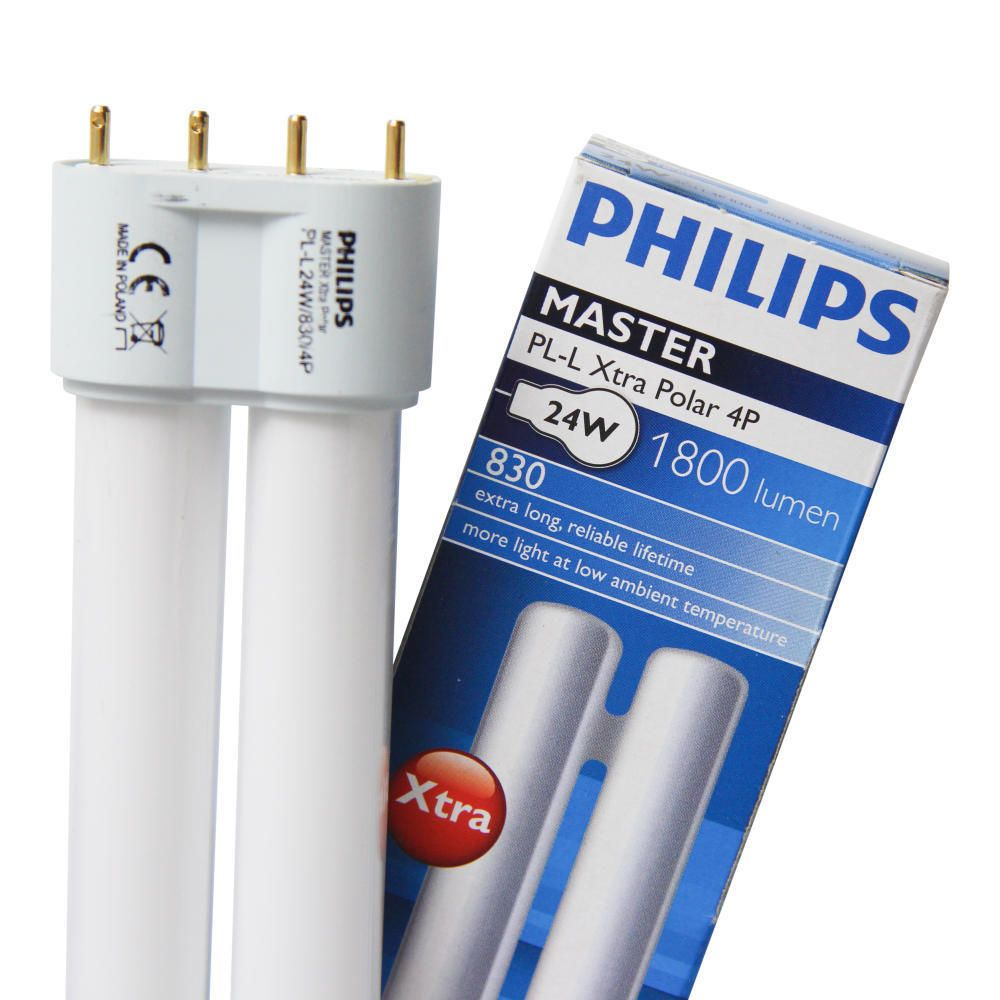 Philips PL-L Xtra Polar 24W 830 4P (MASTER) | varm hvid - 4-pinde