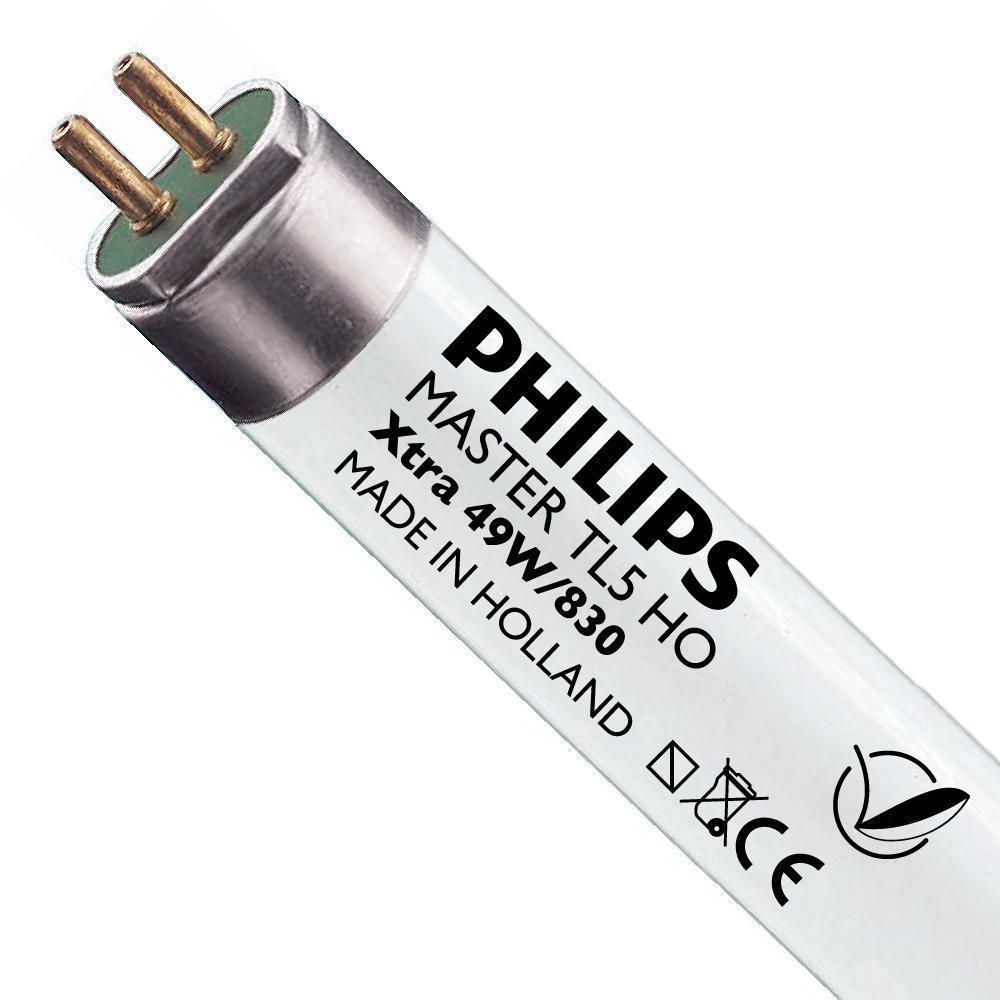 Philips TL5 HO Xtra 49W 830 (MASTER) | 145cm - varm hvid