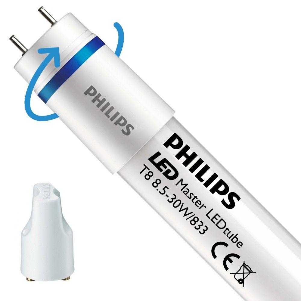Philips LEDtube EM SO 8.5W 833 90cm (MASTER) | Food - LED starter er inkl. - erstatter 30W - drejeligt