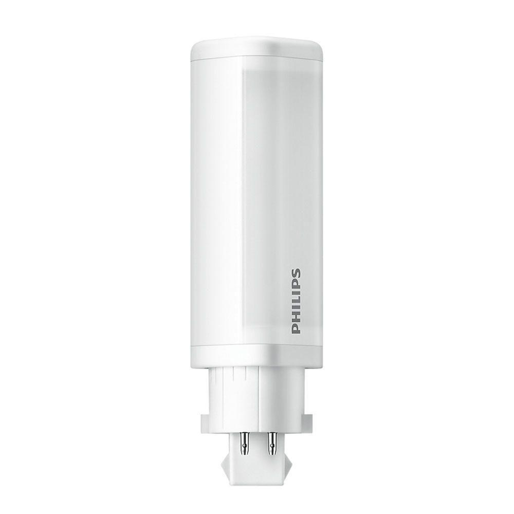 Philips CorePro PL-C LED 4.5W 830 | varm hvid - 4-pinde - erstatter 10W & 13W