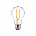 Noxion Lucent Classic LED filament A60 E27 5W 822-827 klar | dæmpbar - ekstra varm hvid - erstatter 40W