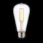 Noxion Lucent Classic LED filament ST64 E27 4W 827 klar | ekstra varm hvid - erstatter 40W