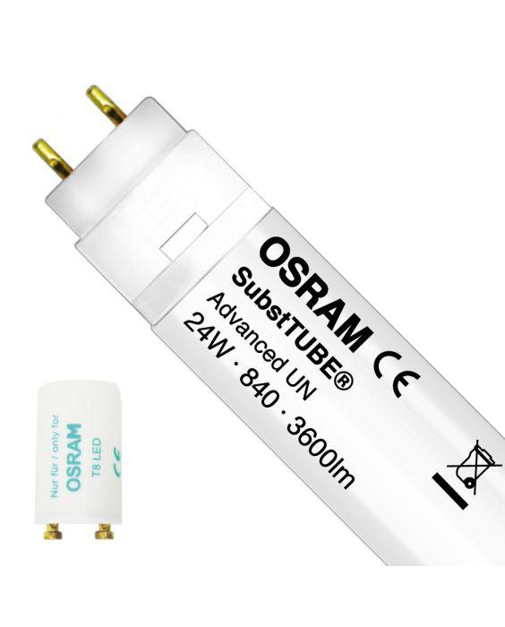 Osram SubstiTUBE LED T8 Advanced (UN) Standard output 24W - 840 kold hvid | 150cm erstatter 58W