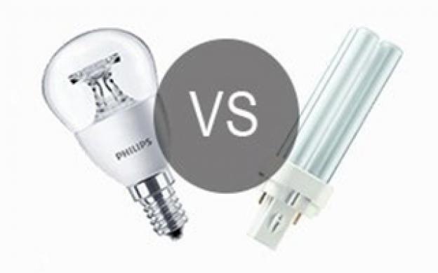 LED vs sparepæren