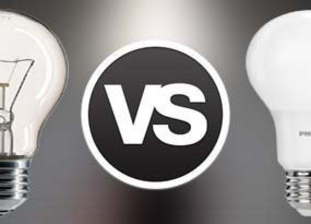 En glødepære, sparepære eller en LED-pære?