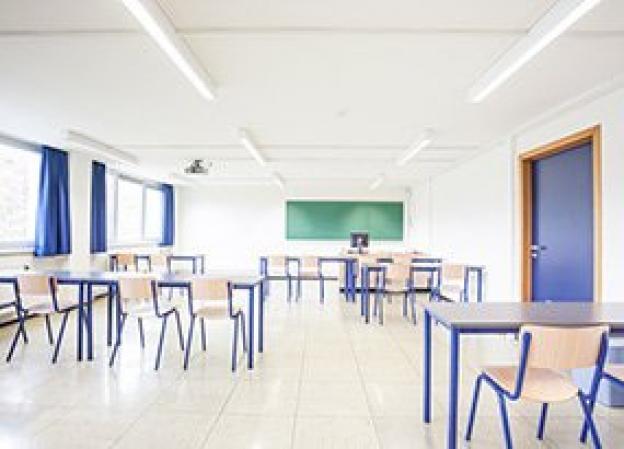LED belysning til skoler