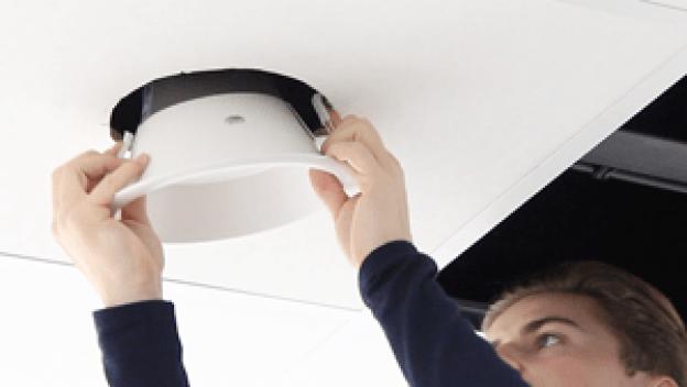 Hvordan installerer man et LED downlight?