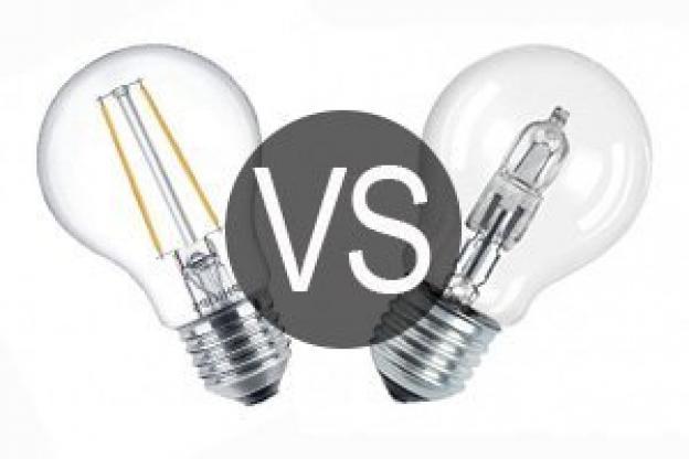 LED eller halogenpærer?