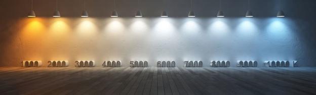 LED lyskilde og lystemperatur?