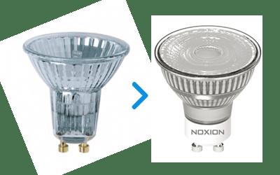 LED spot paerer