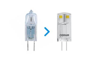 Alternative LED kapsel pærer
